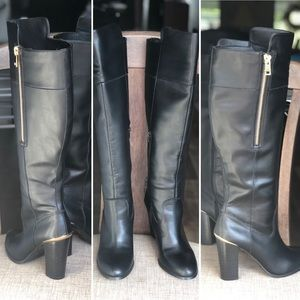 Aldo knee high boots size 10